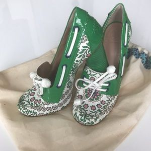 Tory Burch Garden party Fisher heels